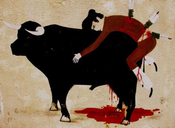 Toro en el purgatorio
