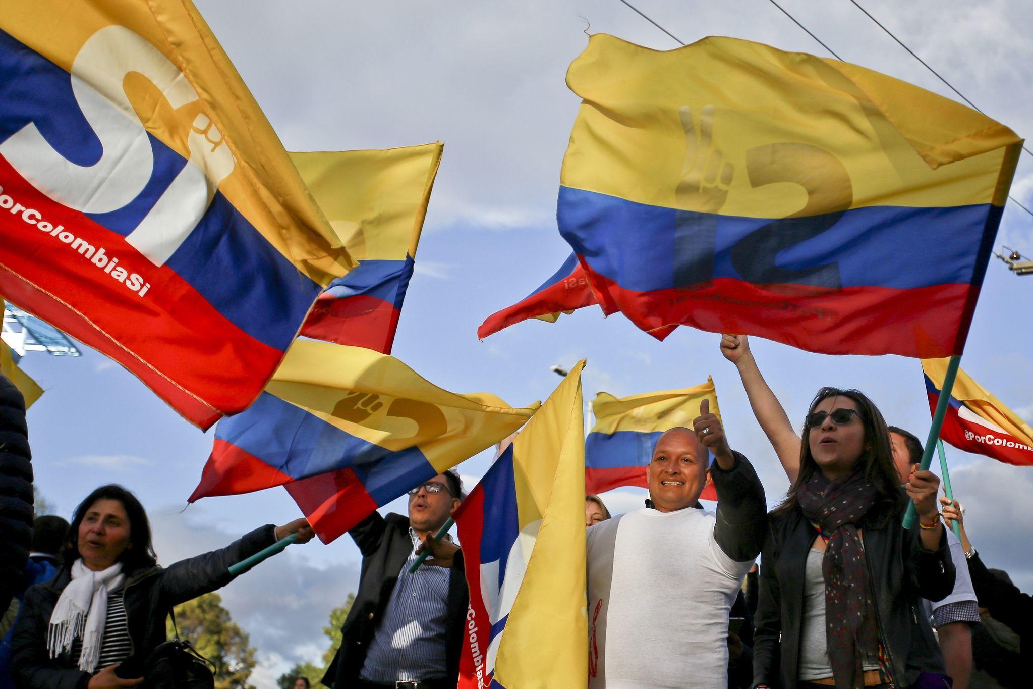 Sí, sí, Colombia; sí, sí, Caribe; sí, sí, la paz