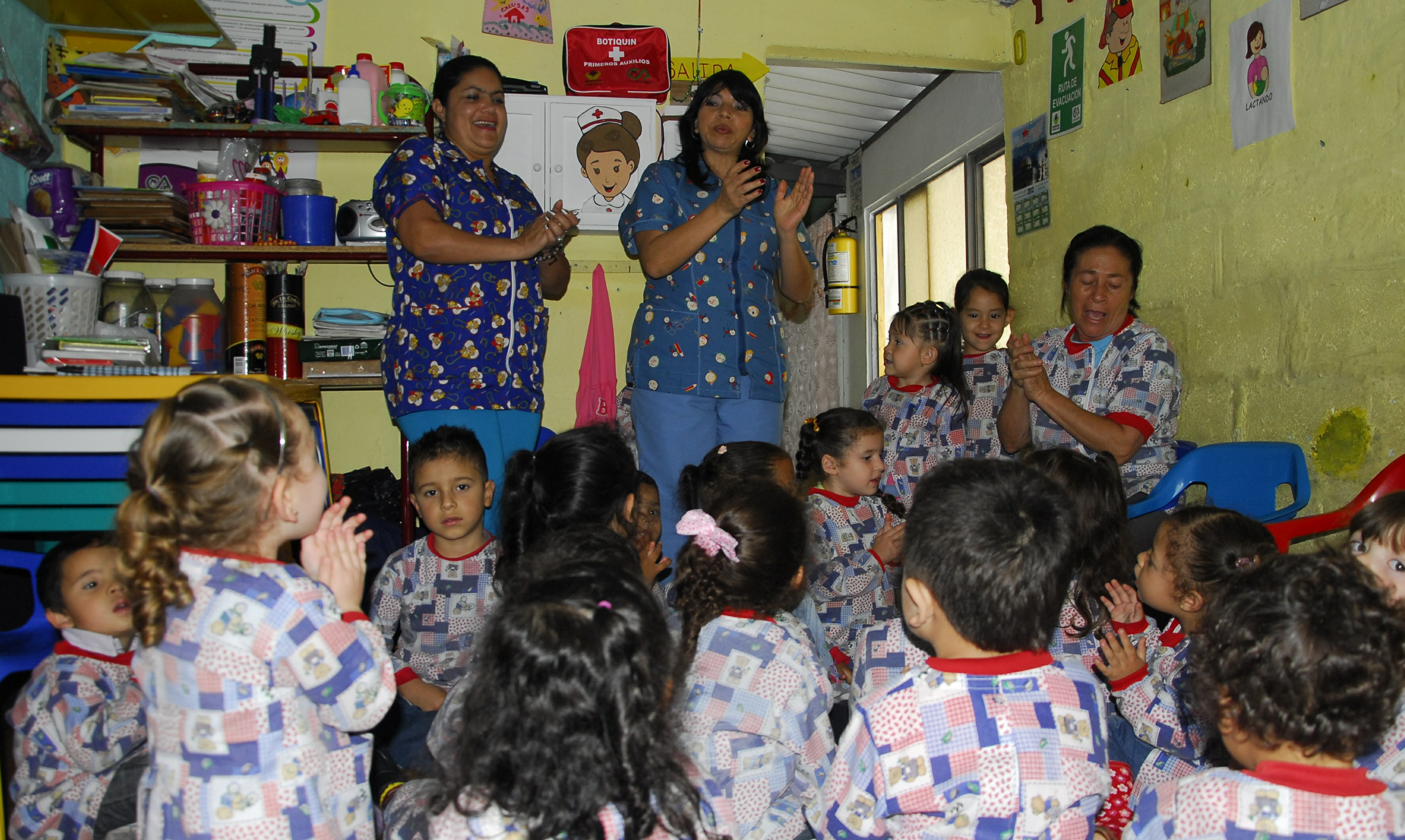 Las madres comunitarias y su papel en la construcción de paz