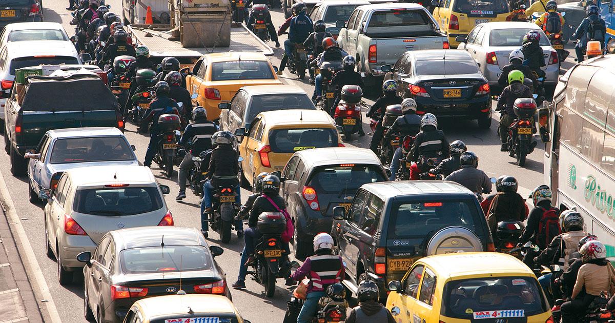 La motocicleta: una calamidad pública