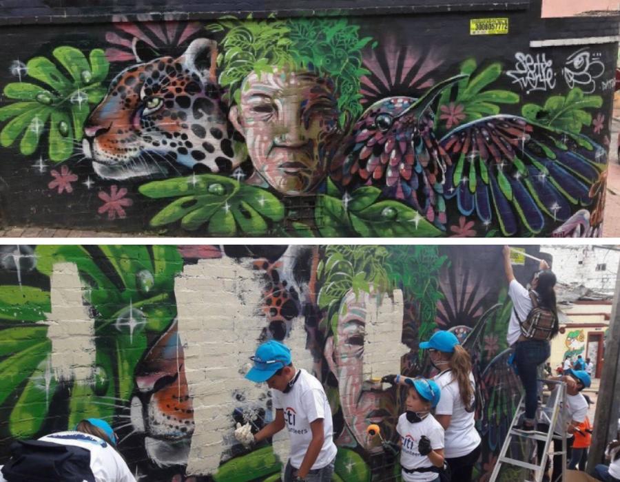 Peñalosa, el arte callejero también es para todos