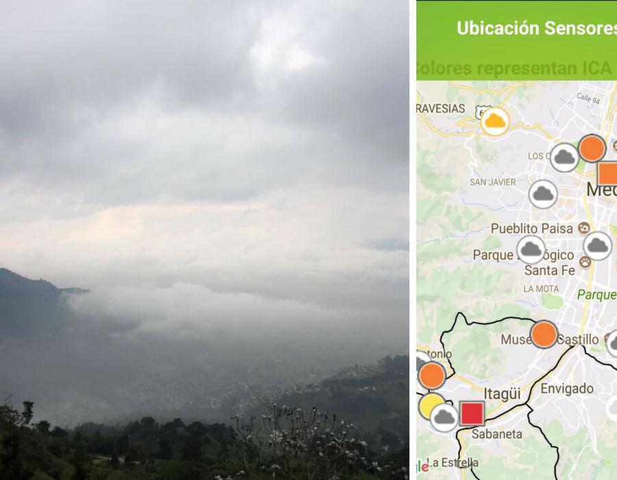 A Medellín se le contaminó el aire, otra vez