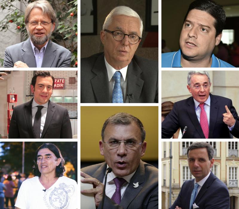 Estos son los principales candidatos al Congreso