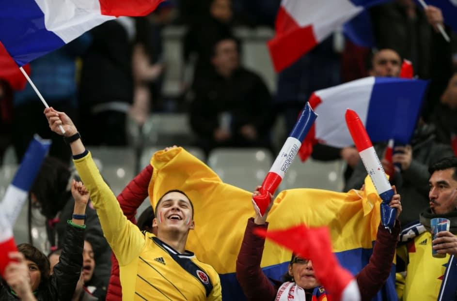 Colombia se tomó el Estadio de Francia