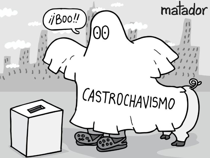 La falacia del «castrochavismo»