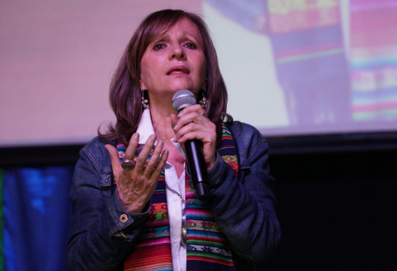 Ángela María Robledo, una mujer de paz
