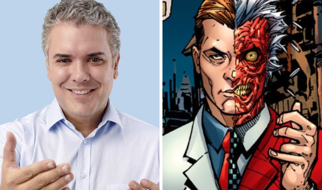 Iván Duque: el Harvey Dent colombiano