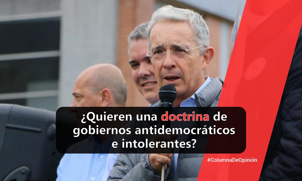 Uribismo busca aconductar maestros y castrar la libertad de cátedra