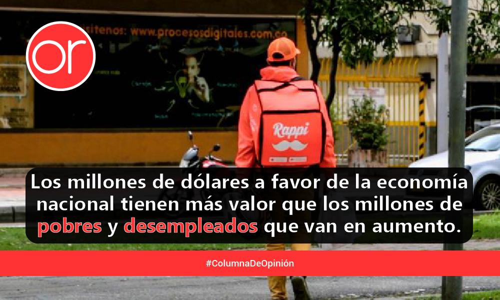 La alta tasa de desempleo en Colombia, explotación y desigualdad