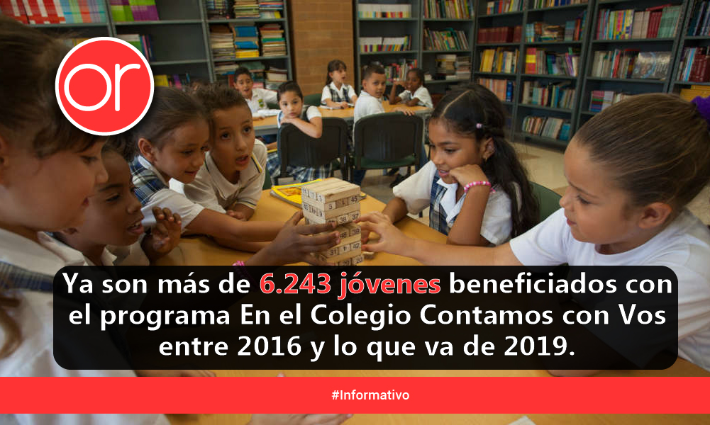 En Medellín, las oportunidades para estudiar llegan hasta la puerta de la casa