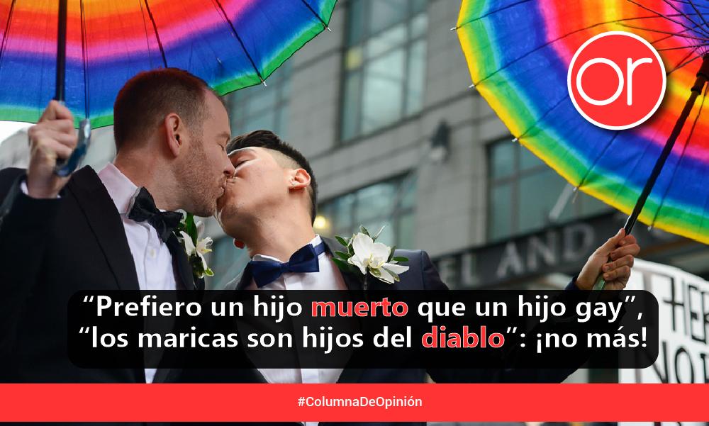 ¿Prohibido besar y amar?…