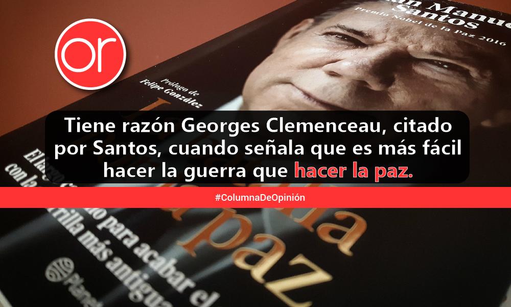 Después de leer a Juan Manuel Santos