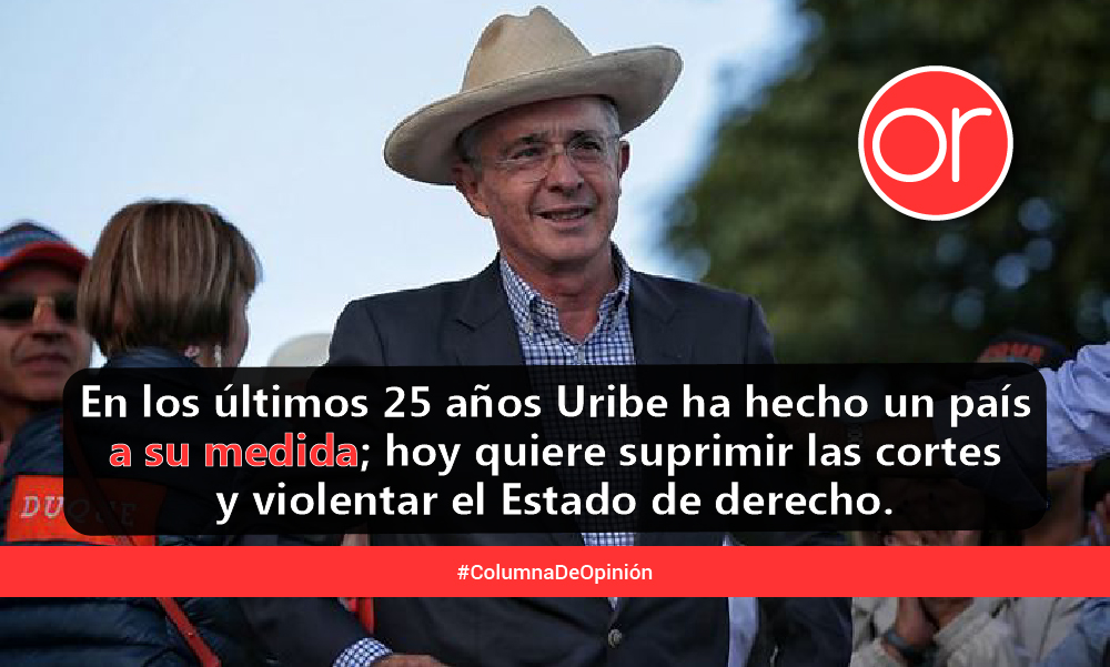 ¡Adiós al senador Uribe Vélez!