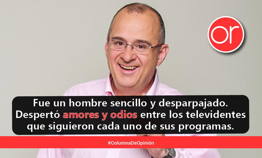 Jota Mario Valencia: adiós a un ícono de la televisión colombiana