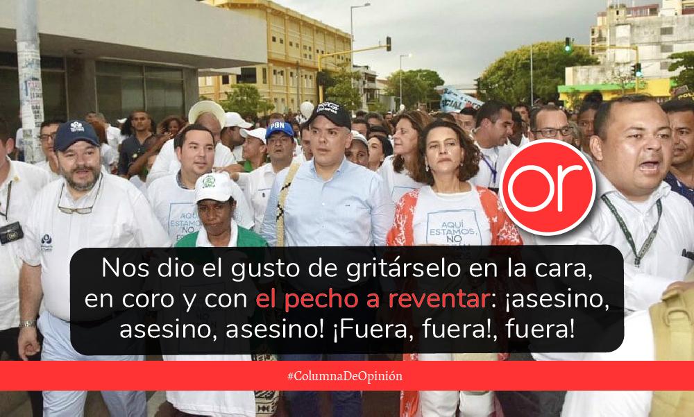 Duque provocó la concentración de la marcha el 26 de julio en Cartagena