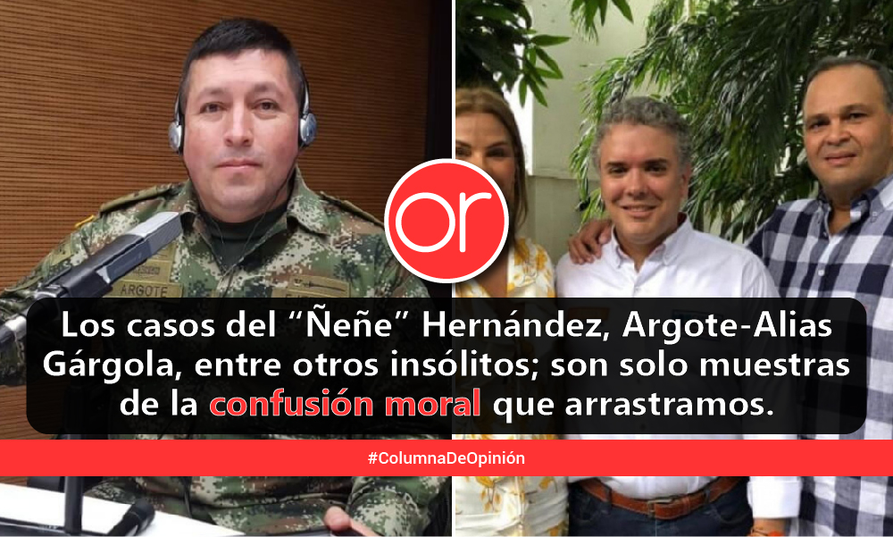 Colombia, moralmente inviable