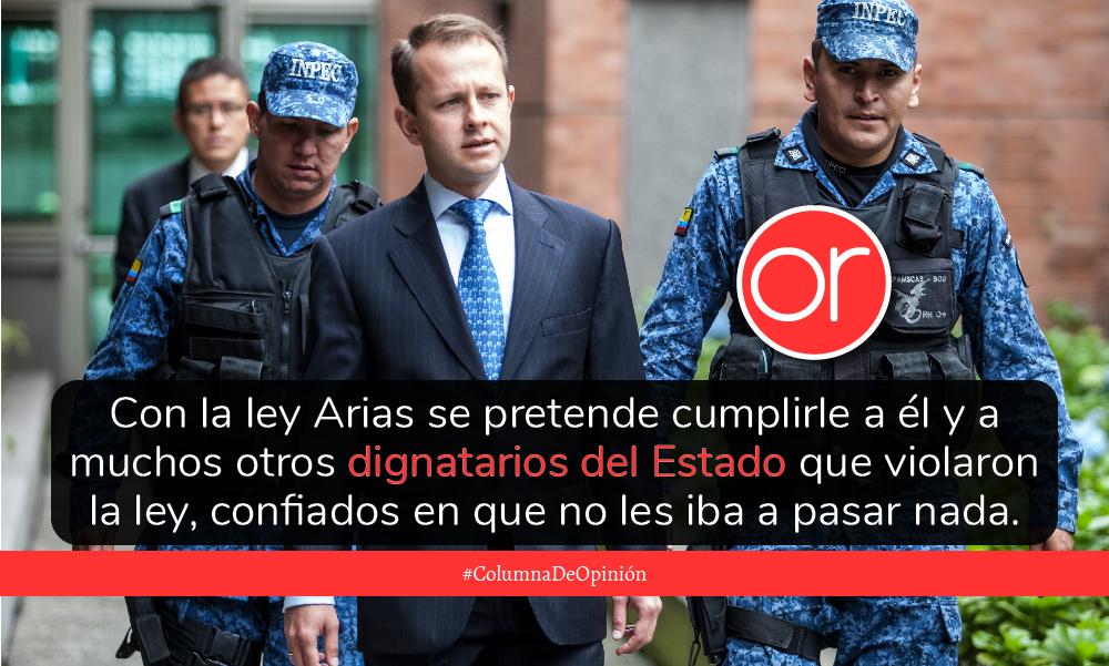"Ley ""Andrés Felipe Arias"""