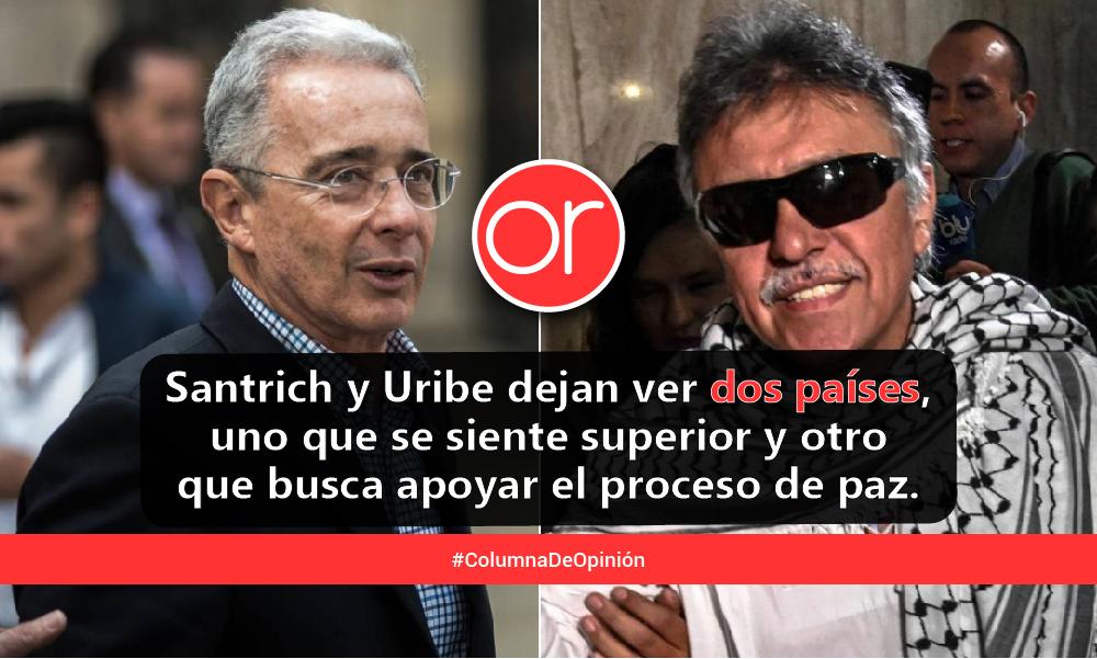 Santrich y Uribe, las dos Colombias