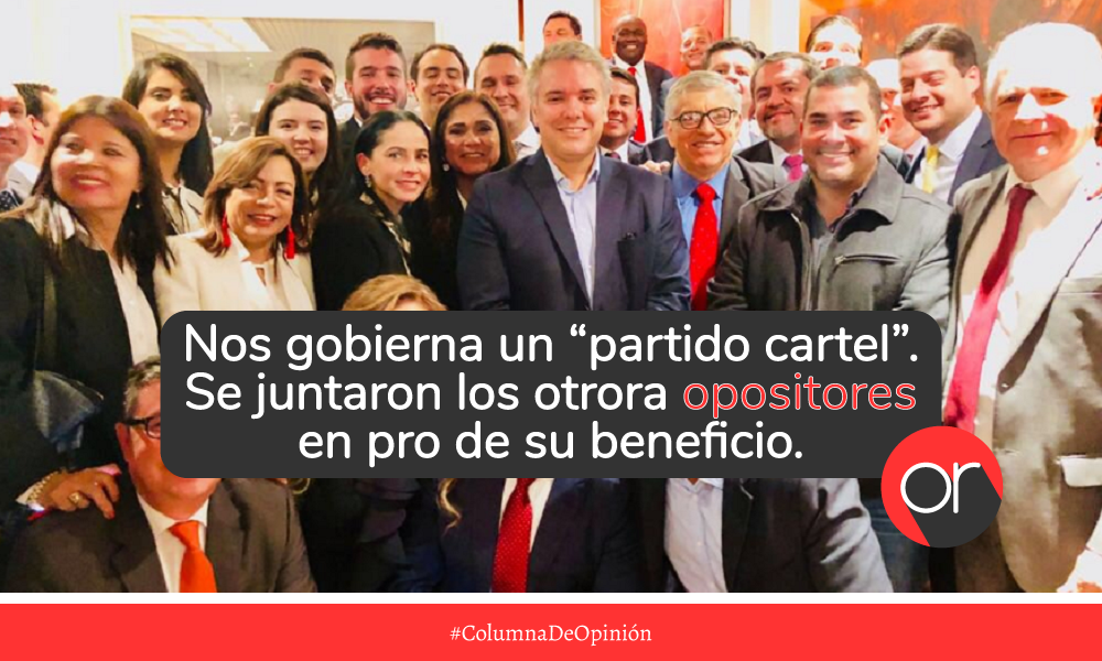 """La """"cartelización"""" de los partidos políticos colombianos"""