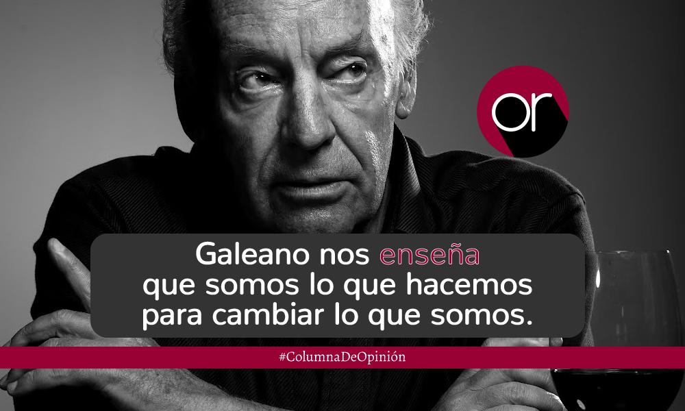 Eduardo Galeano: la identidad y el abrazo de la voz