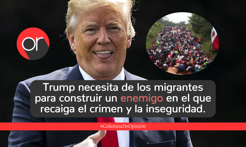 """Make American White Again"" o la lucha xenófoba de Trump"