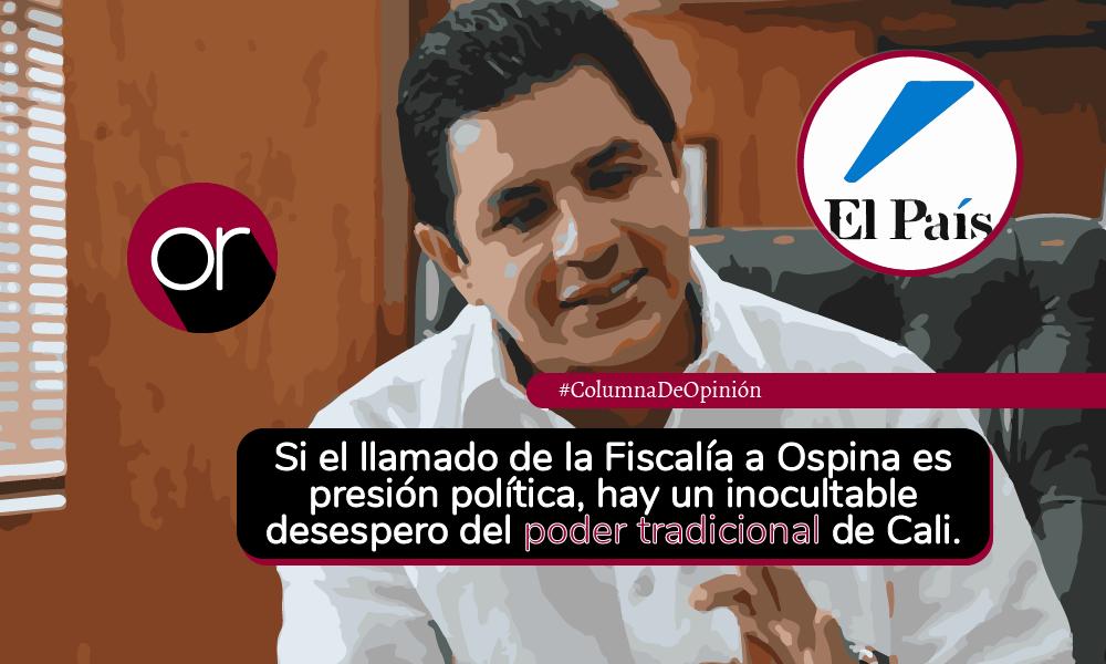 'El País' contra Jorge Iván Ospina