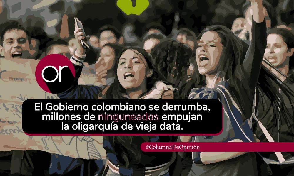 Colombia es un volcán social en ebullición