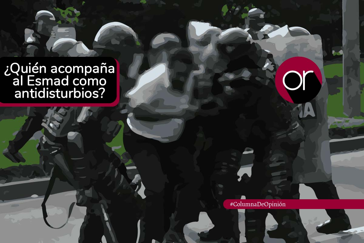Cuidado, ¿soldados contraguerrilla ahora son antidisturbios?