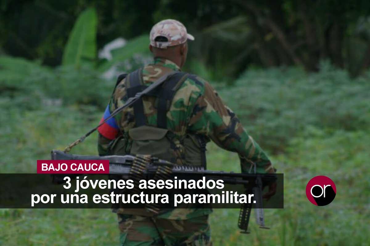 Nueva masacre en el Bajo Cauca hace urgentes las soluciones gubernamentales