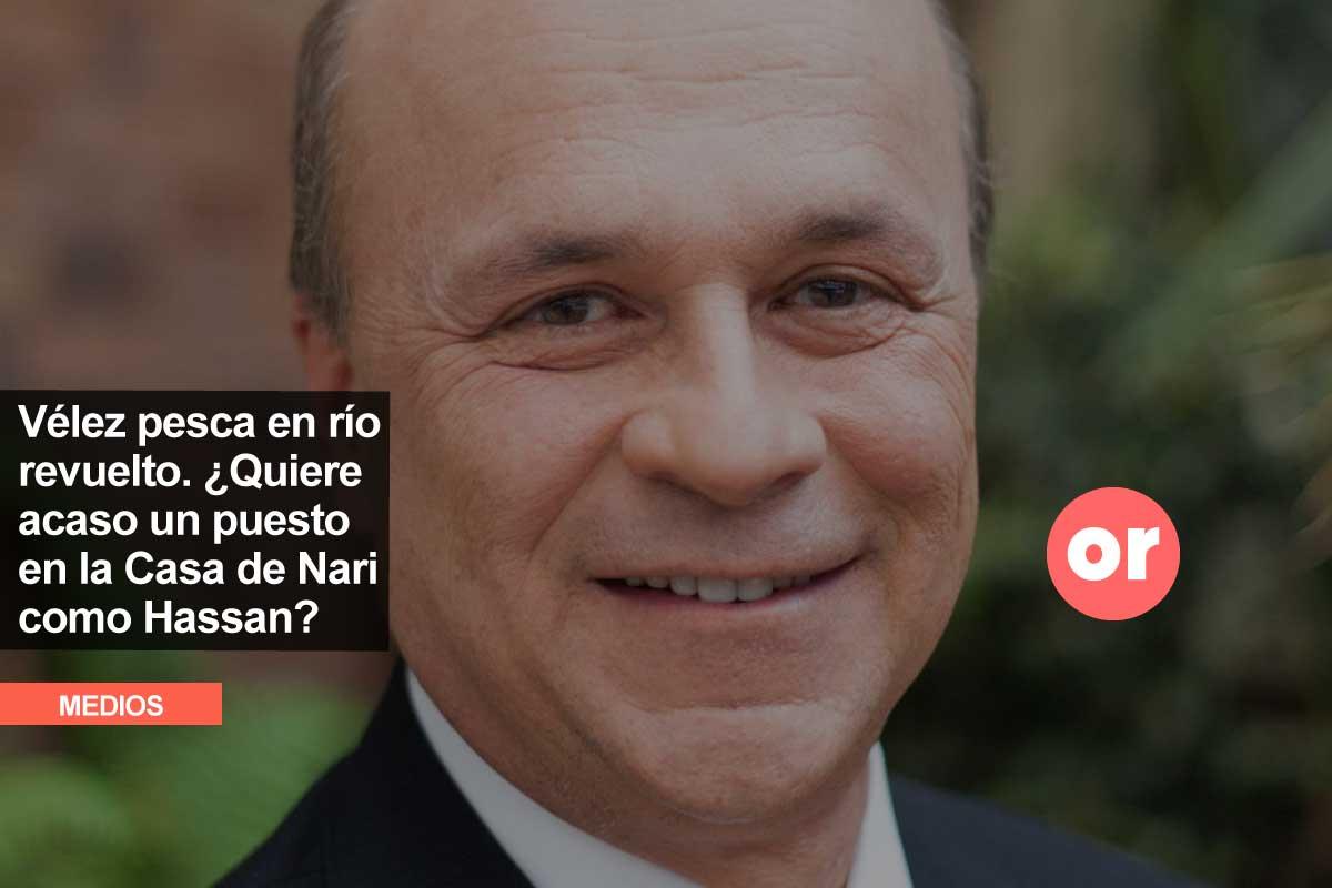 Carlos Antonio Vélez o hablar sin permiso del cerebro
