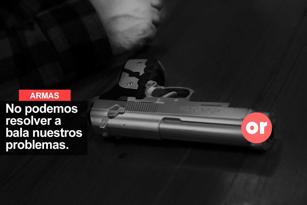 De la defensa de la vida al desarme