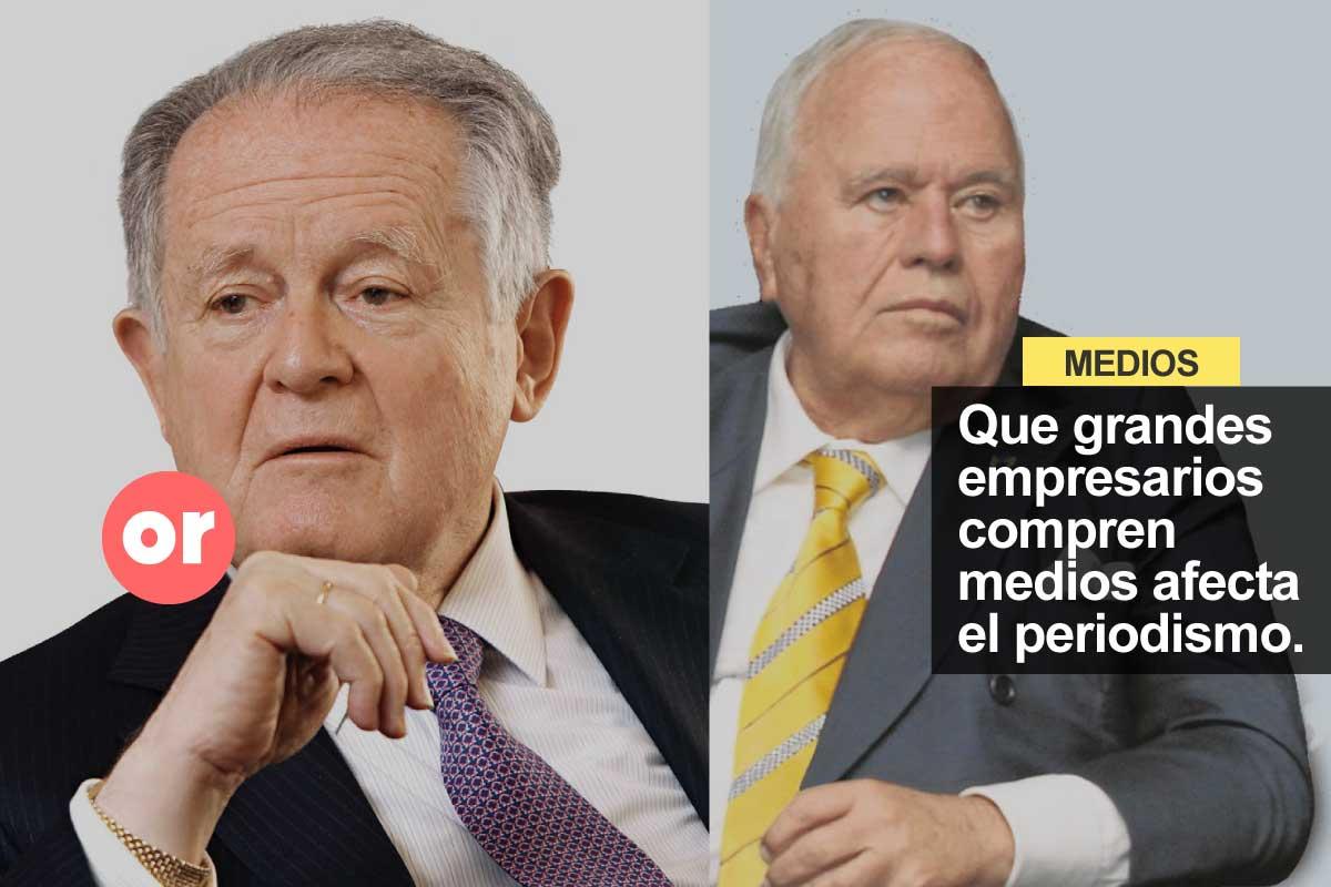 Los dueños de los medios de comunicación y de las grandes empresas en Colombia