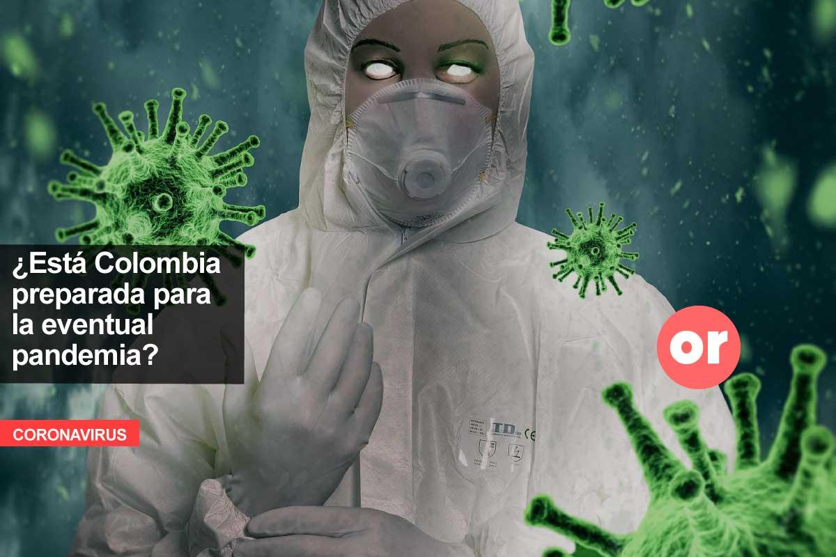 ¿Qué pasaría si el coronavirus llega a Colombia?