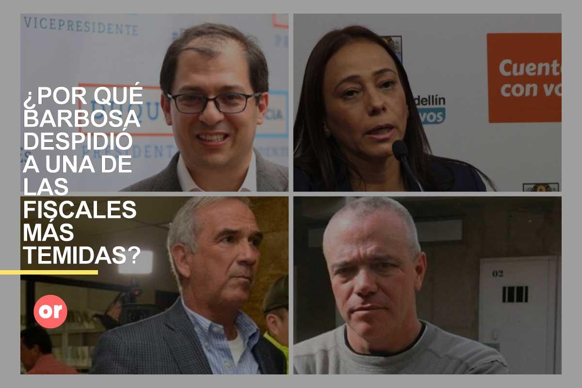 Barbosa se deshizo de la fiscal que capturó a 'Popeye' y a Villegas, entre otros