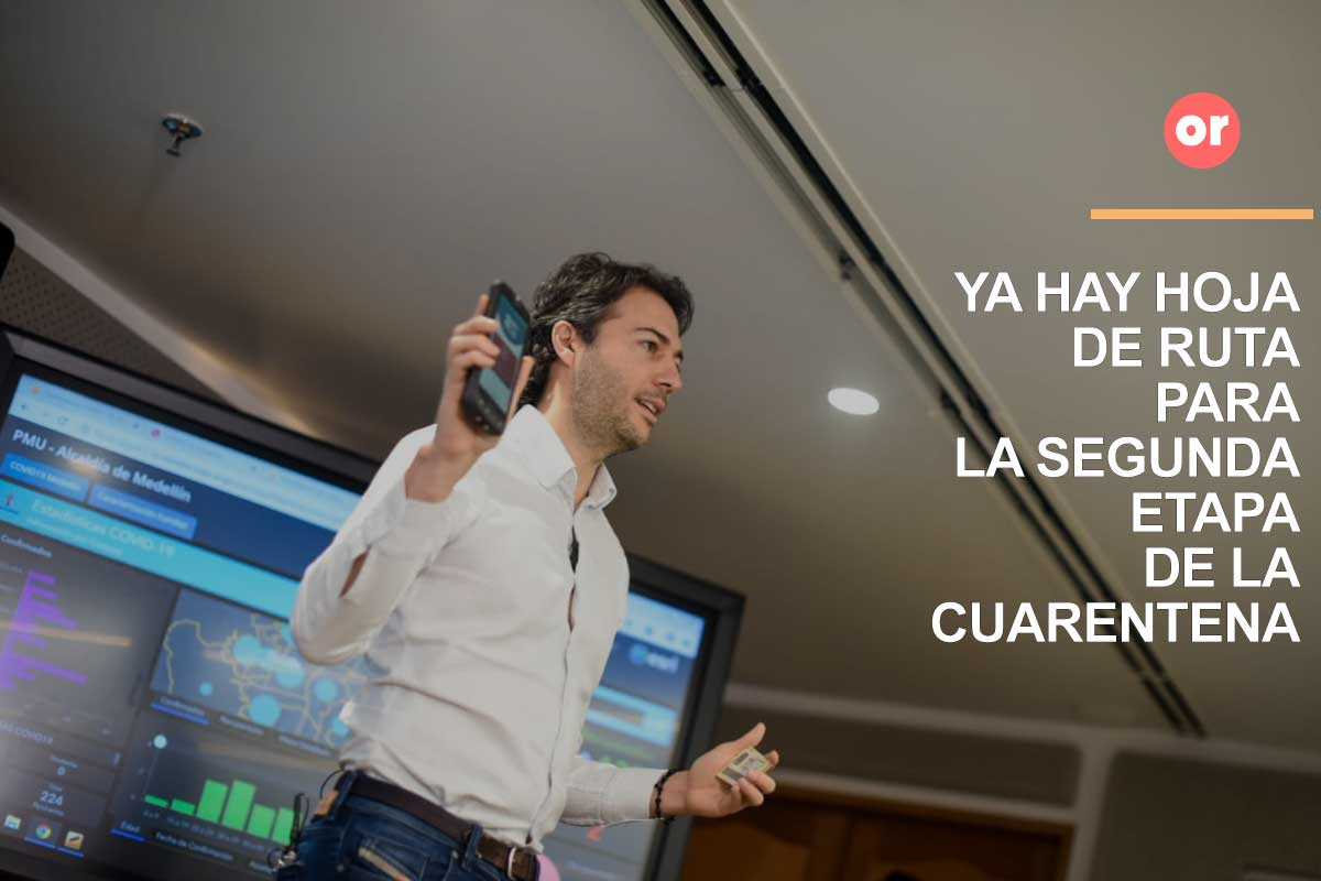 Con tecnología controlarán en Medellín a los sectores que se reactivan este lunes