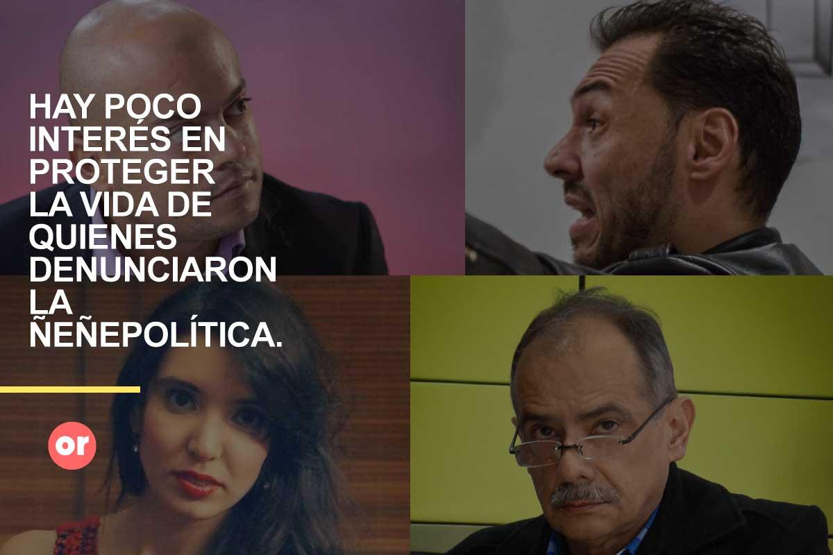 Daniel Mendoza y sus colegas: amenazados por la 'Ñeñepolítica'