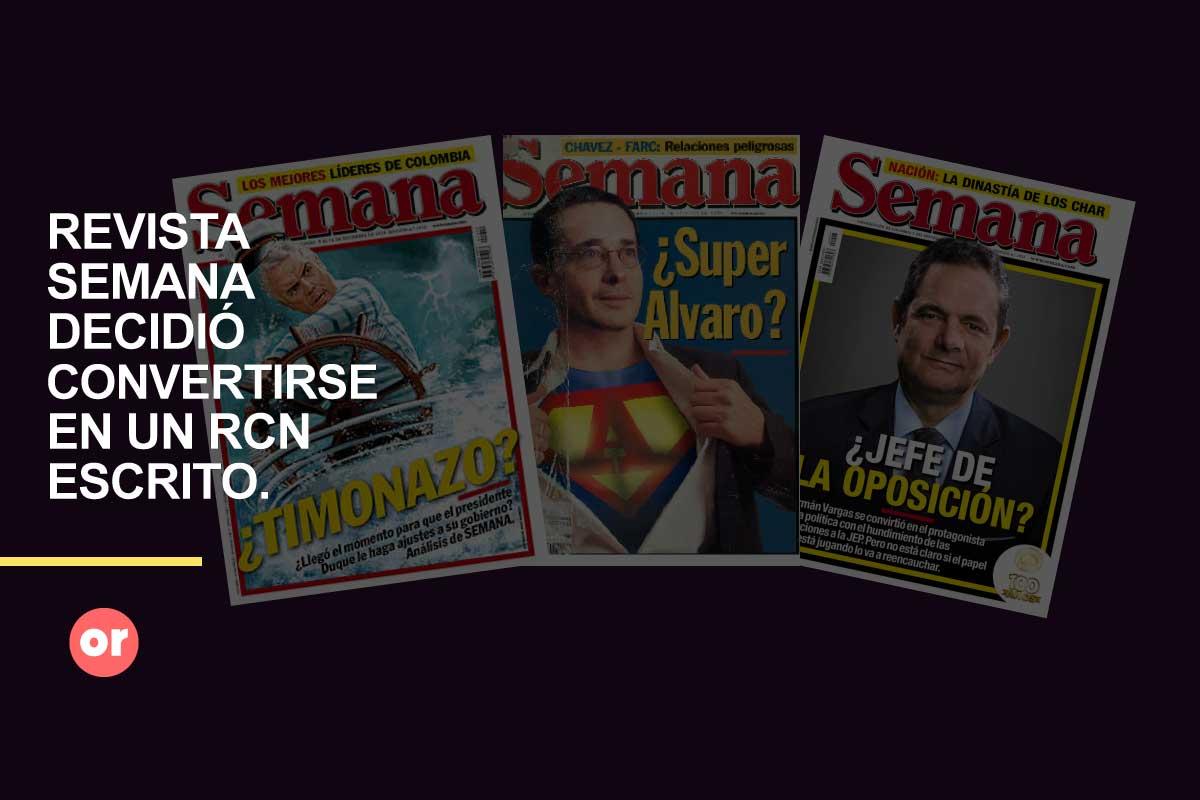Ningún Fox colombiano, más bien un RCN escrito