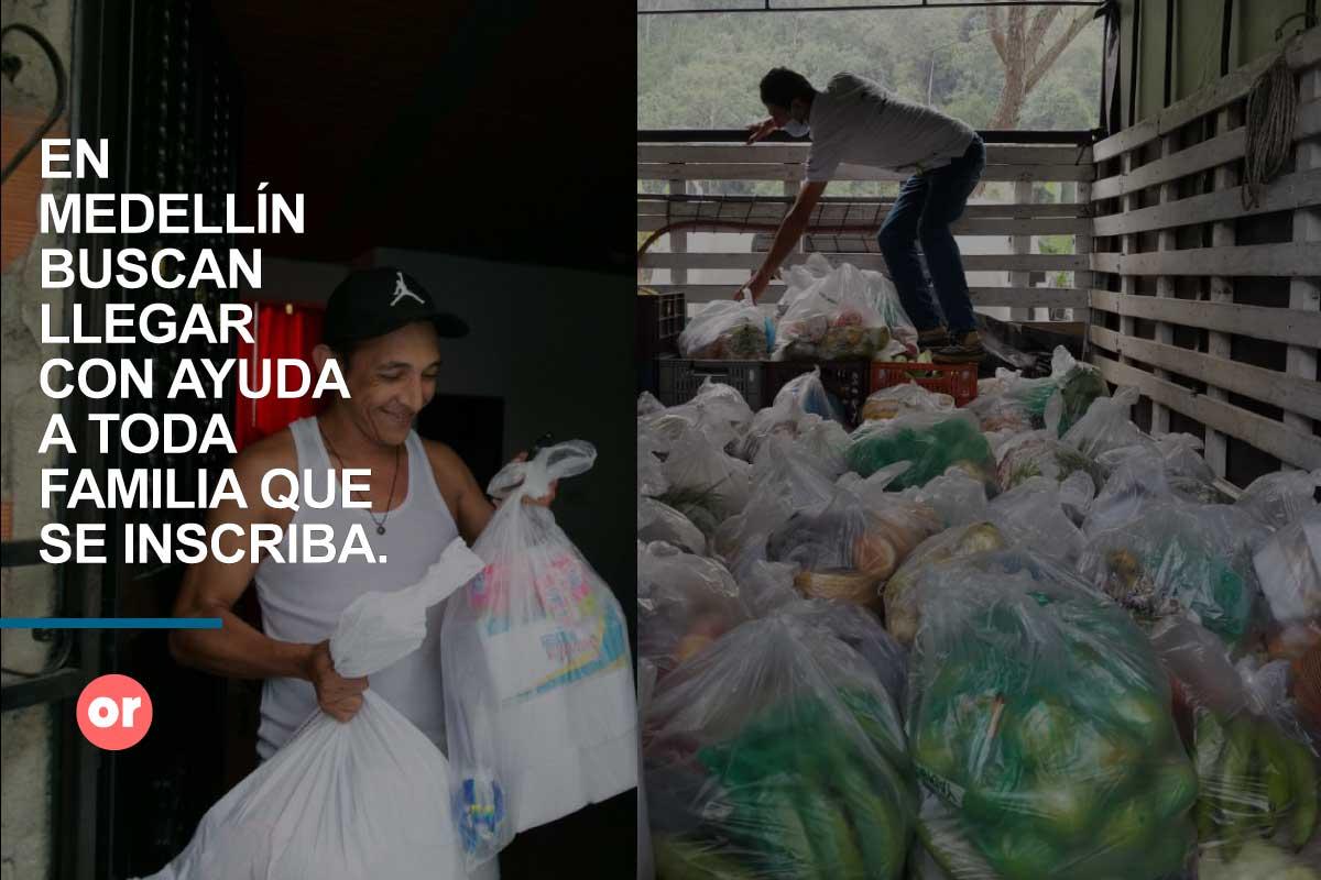 Emprendedores, campesinos y 550 mil familias han recibido apoyo en Medellín
