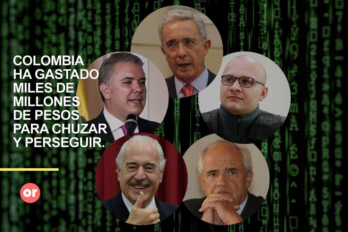 TOP 5: Casos de espionaje y chuzadas en Colombia