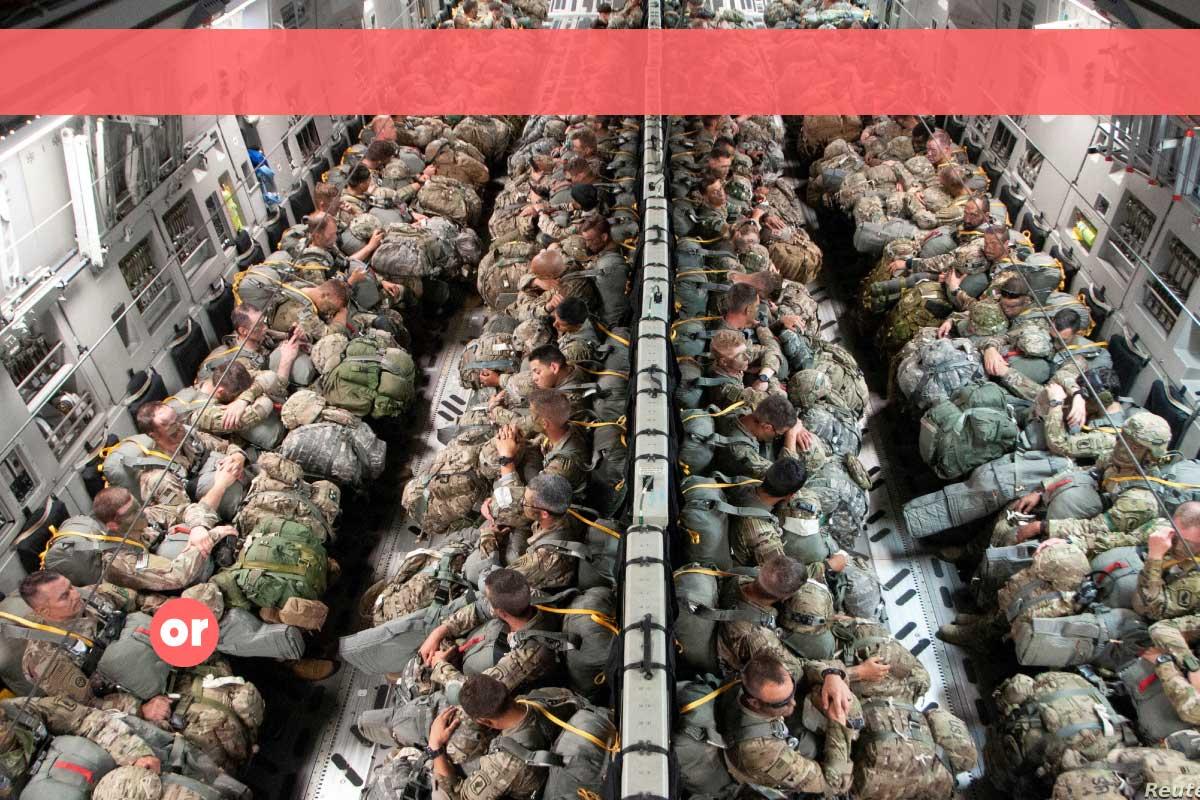 Duque violó la Constitución para que llegaran otros 800 militares gringos al país