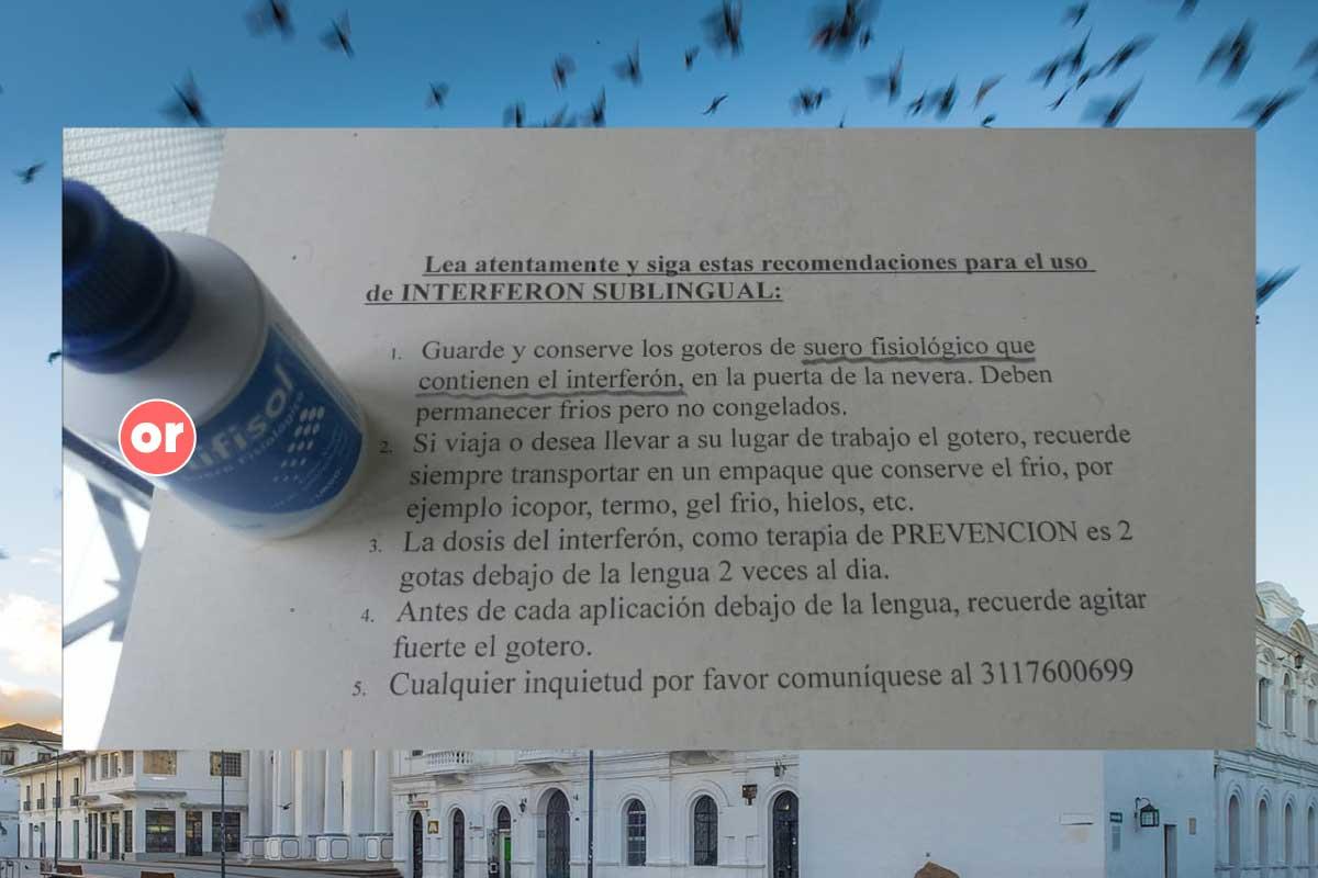 ¿Existe en Popayán un cartel del Interferón?