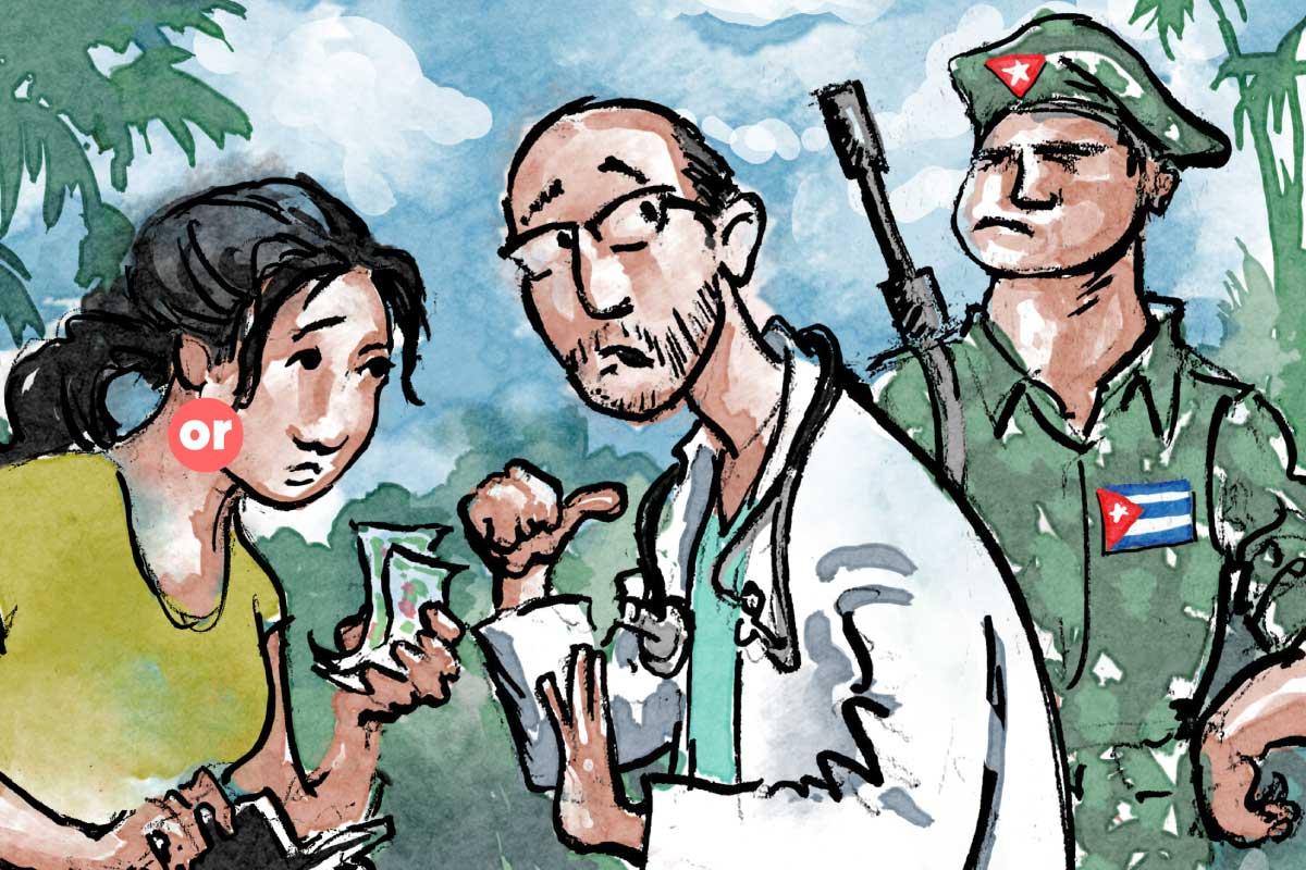 La otra cara de las misiones médicas cubanas