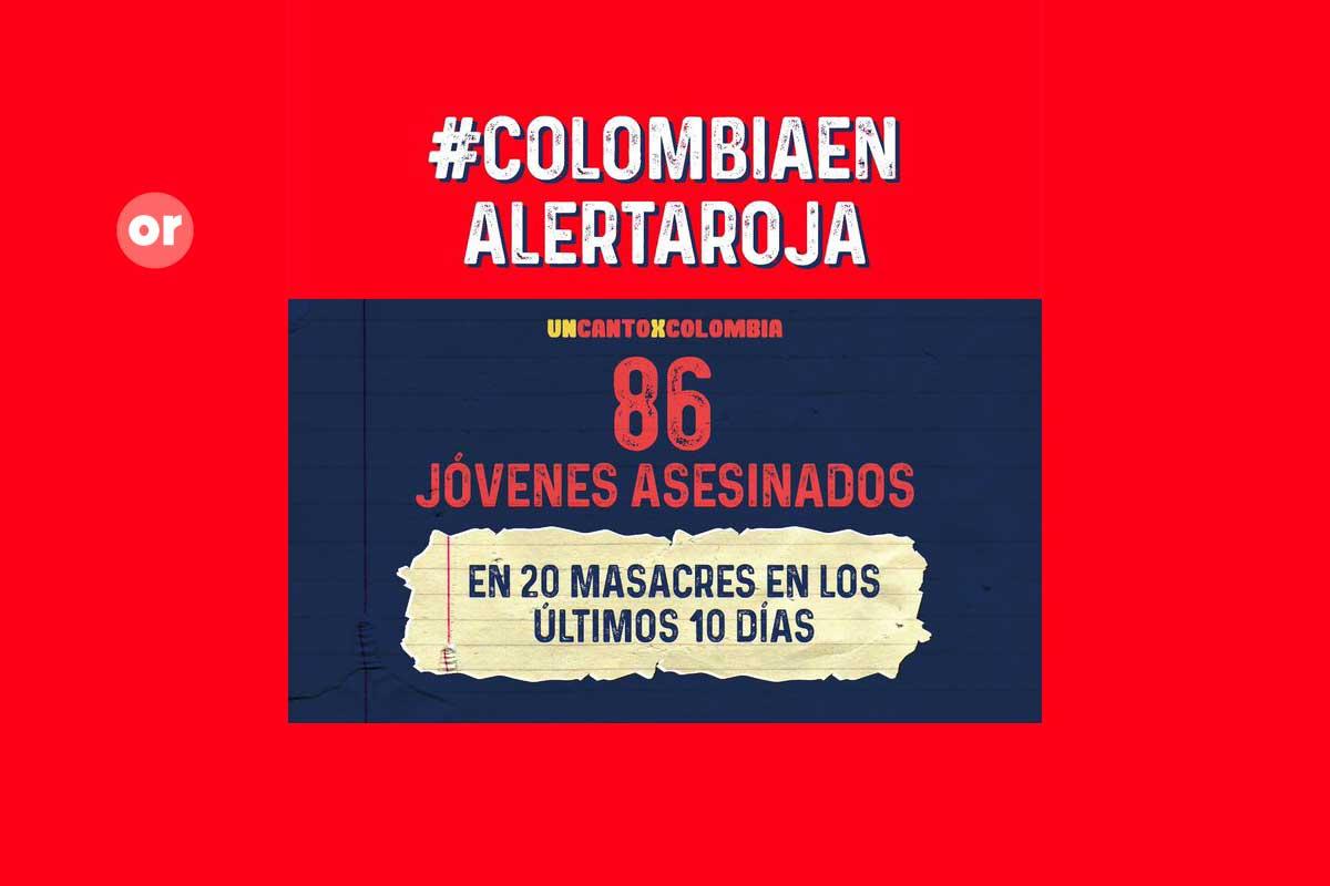 La primera protesta digital, así fue Un canto X Colombia