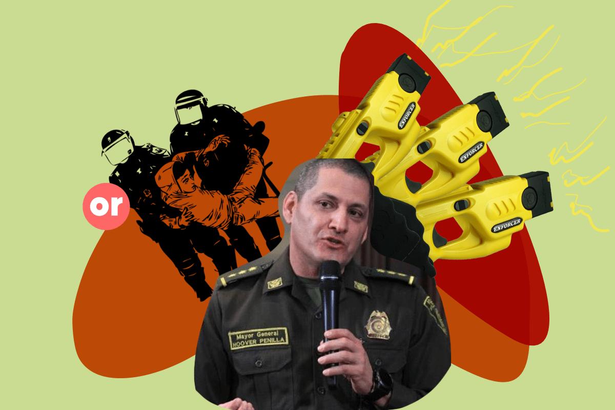 Hoover Penilla, el defensor de la brutalidad policial