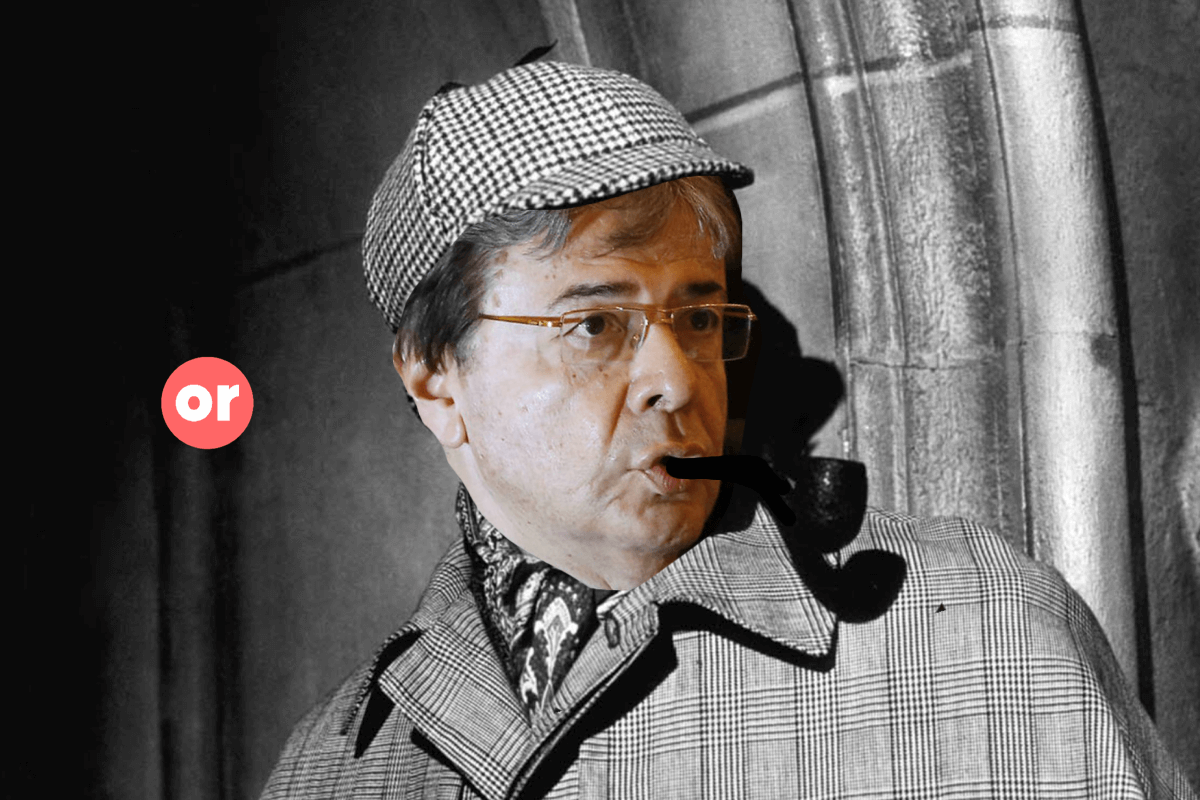 Elemental, mi querido Holmes Trujillo