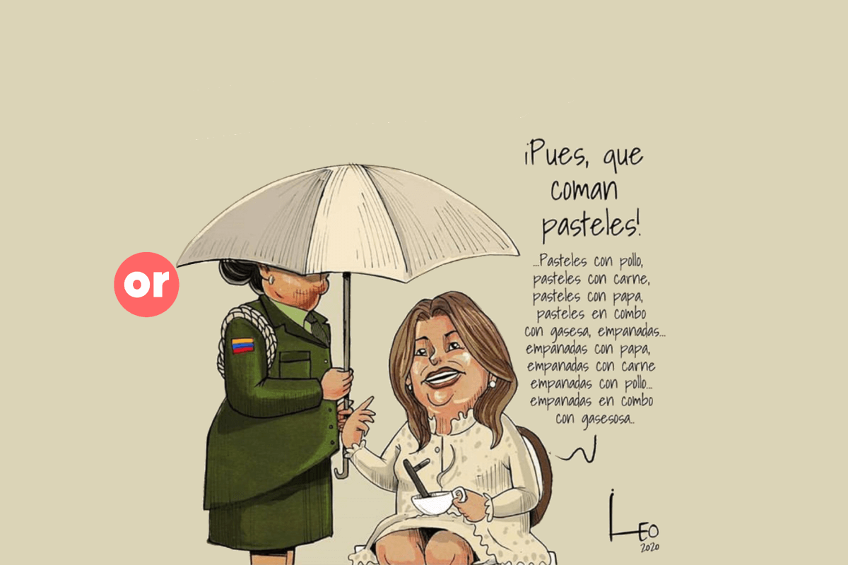 María Juliana Ruiz y el síndrome de María Antonieta