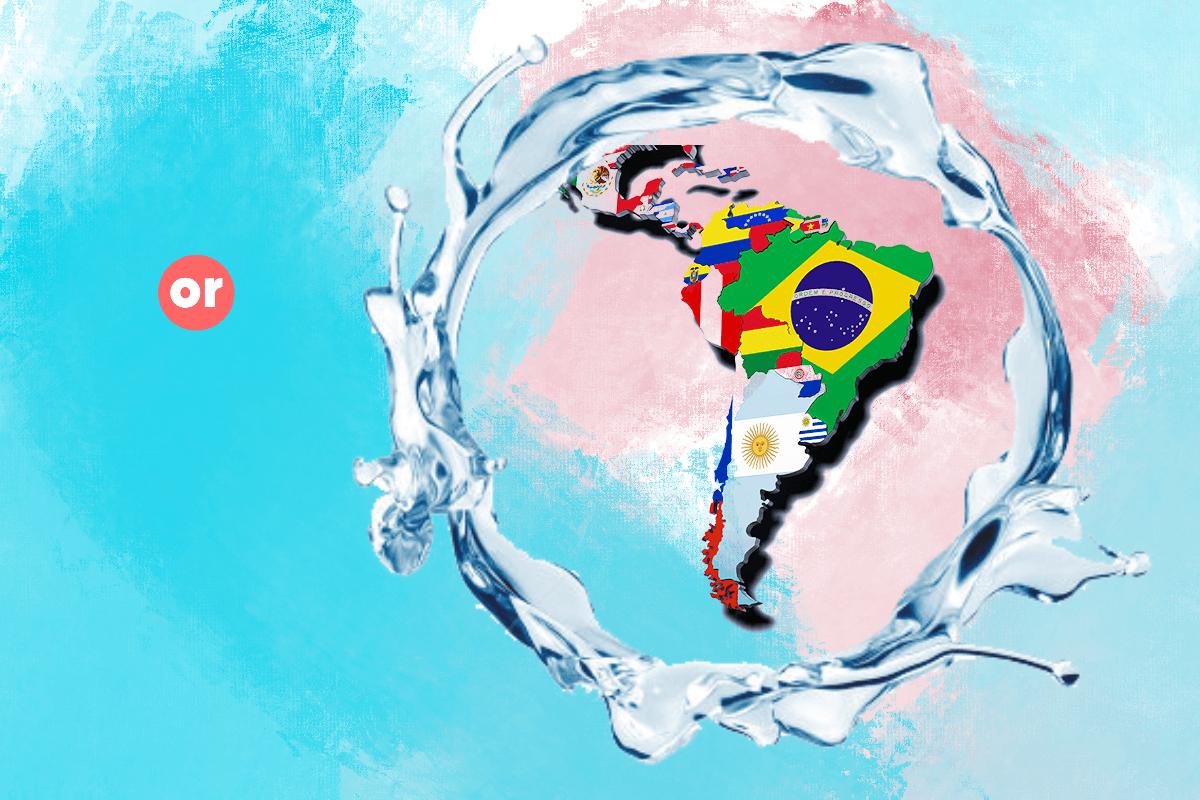 El agua, un manantial para la vida y la economía de Latinoamérica