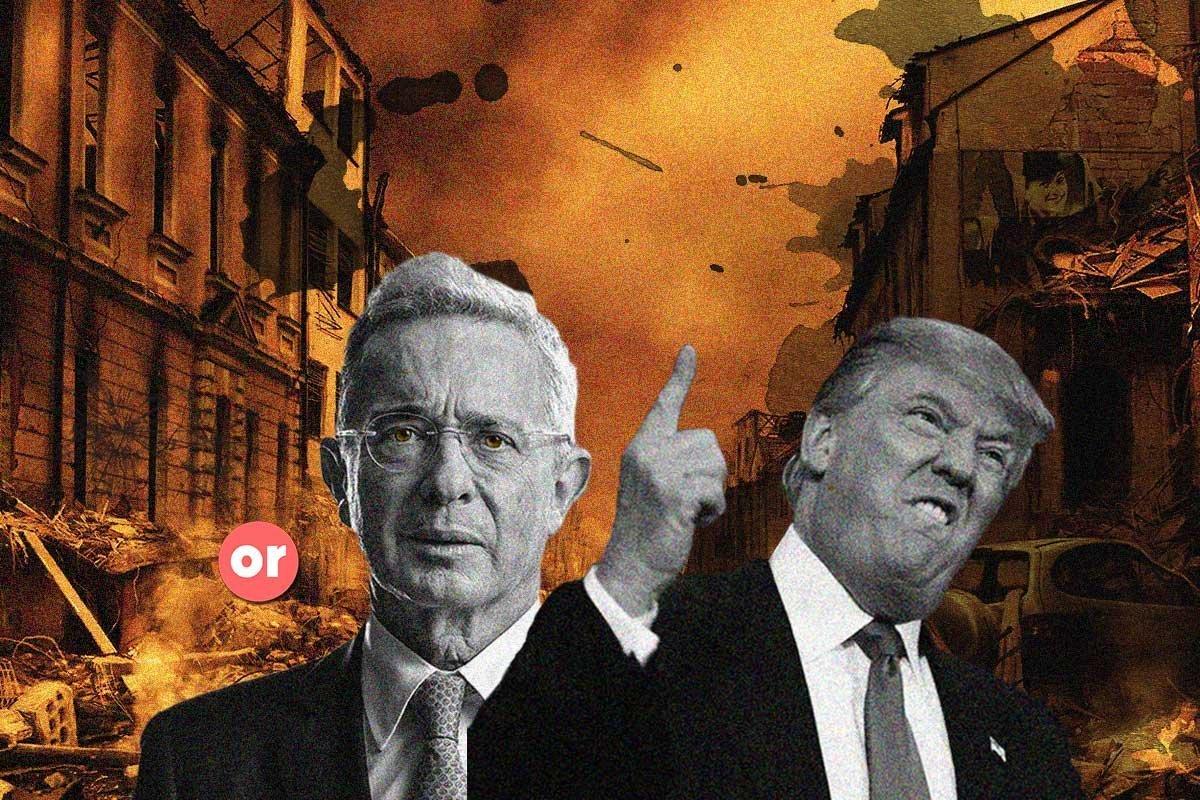 De Álvaro Uribe a Donald Trump, demasiadas coincidencias para ser casualidad
