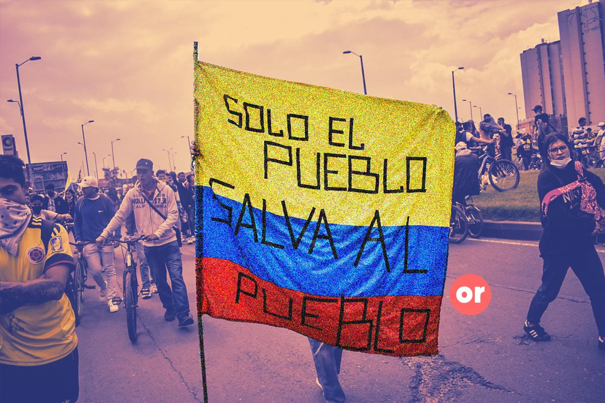 Los buenos y los malos, el vaticinado estallido social colombiano
