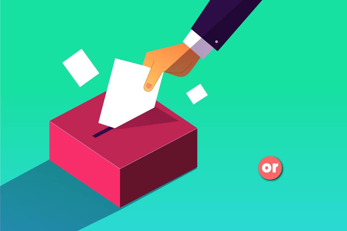 La democracia no puede solo concebirse como el derecho a elegir y a ser elegido